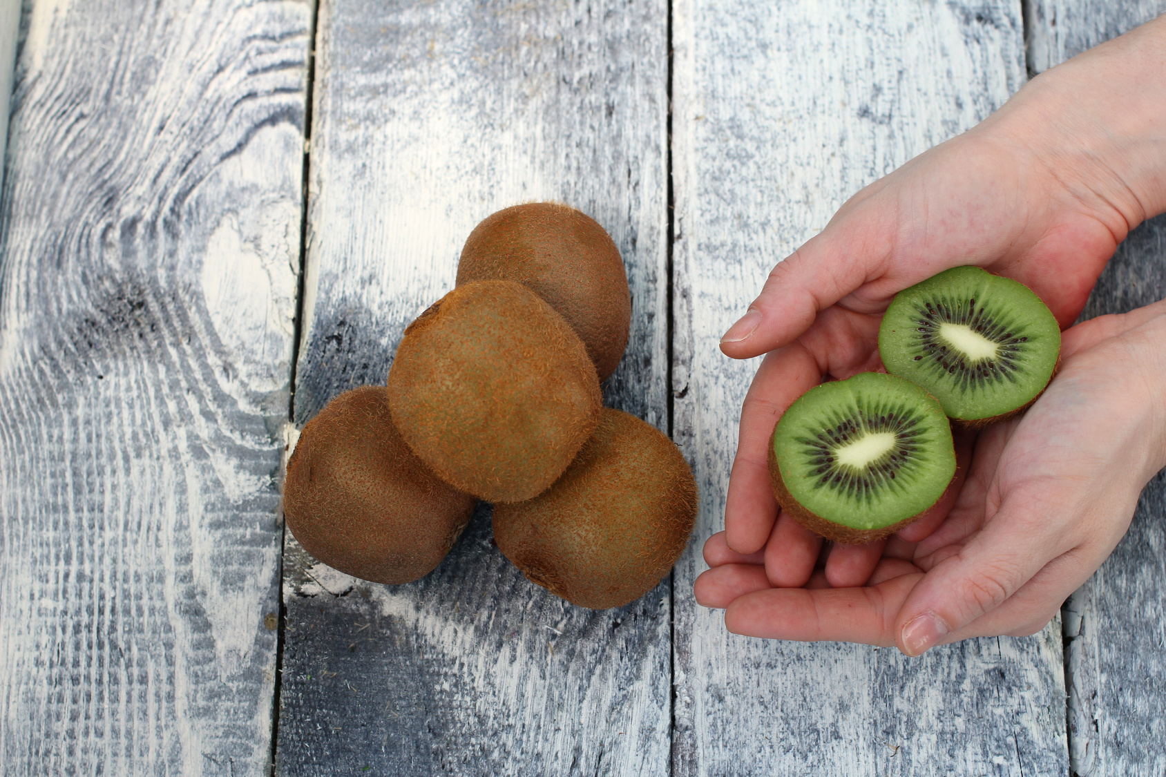 Kiwi fruits: how to select and store them?